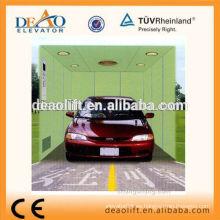 Elevador de coches de alta calidad con puerta opuesta