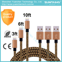 1m/2m/3m Fast Charging Sync Data USB Cable for iPhone