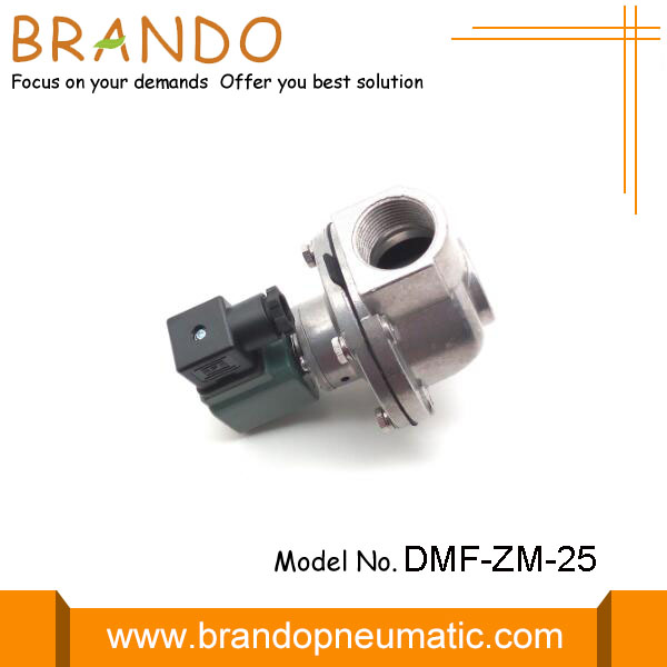 Valve de jet d'impulsion pneumatique DMF-ZM-25 Green Coil