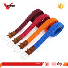 Cinto trançado stretch elástico colorido