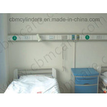 Hospital Bed Head Unit for Oxygen Therapy