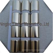 Imán de neodimio cilindro Mortor imán N52