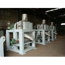 Vente chaude processus sec usine de granulateur de presse à double rouleau