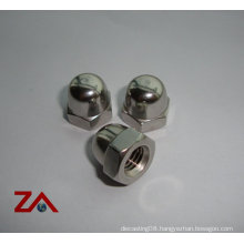 stainless steel domed cap nuts