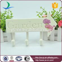 Pastoral estilo jardín signo con gancho