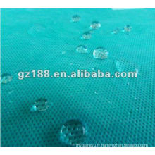 (Spunbond + meltblown + spunbond) tissus non-tissés (anti-alcool, anti-sang, anti-huile)