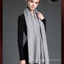 Bufanda grande de las mujeres más nuevas del estilo con el color gris
