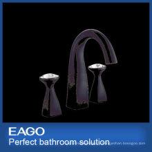 Новый дизайн черный 2 ручки латунный faucet смесителя тазика (PL207B-99С)