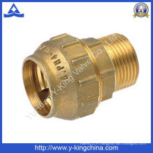 Filetage mâle Brass Compression Spanish Pipe Fitting (YD-6041)