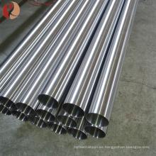 nuevo diseño ASTM B338 tubo de titanio sin costura con certificado BV