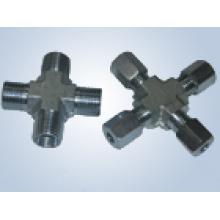 Rohrfittings mit metrischem Gewindeeinsatz ersetzen Parker Fittings und Eaton Fittings (Kreuzfittings)