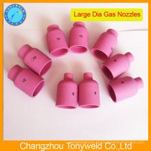 57N serie tig boquilla boquilla de cerámica para tig soldadura antorcha
