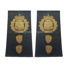 Customized Military Uniforms Woven Epaulettes for sale