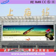 Panneau extérieur d'affichage de lancement de pixel de 6mm LED pour la station de train
