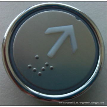 Ascensor redondo pulsador, interruptor de botón del elevador (MDL-7)