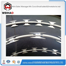 BTO Single coil Galvanized razor barbed wire razor wire