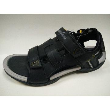 Sand Beach Shoes Men′s Black Brown Beach Sandals