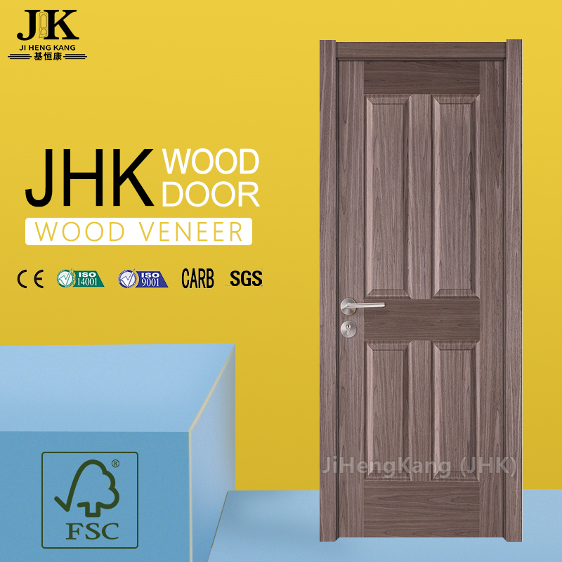 JHK-Home Interior Ash Veneer MDF HDF Doors