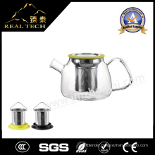 2016 Clear Borosilicate Glass Teapot