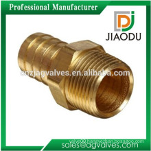 china manufacturer competitive price best sale 8mm forged npt male threaded brass hose fitting connector