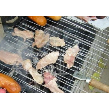 Welded barbecure grill netting