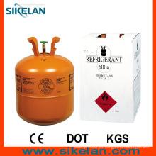 Gas refrigerante de alta calidad R600A