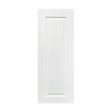 GO-B12 flush door white HDF/MDF material 3.5mm thick door skin size 1900- 2150mm