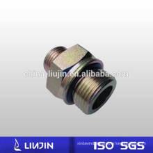 O macho de aço carbono chapeado zinco métrico - o tubo de selo do anel que encaixa o bocal hidráulico (1EH)