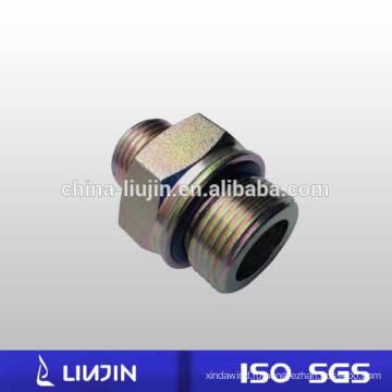 Оцинкованная углеродистая сталь Метрическая резьба - Уплотнительное кольцо для фитинга Гидравлический ниппель (1EH)