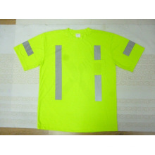 High Visibility Safety T-Shirt Made of Cotton Jersey