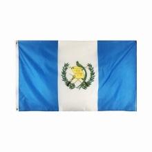 Venda por atacado personalizado Guatemala bandeira poliéster bandeira