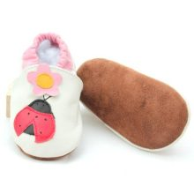 Soft Leather Shoes Baby Girls Boys Shoes with Pattern
