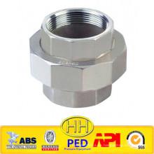 ANSI B31.1 acero inoxidable 316 unión roscada hembra
