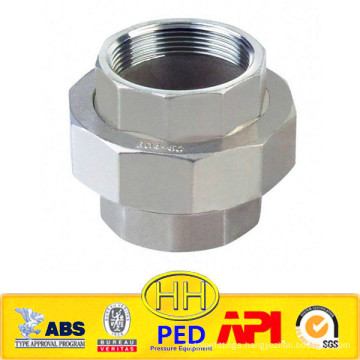 ANSI B31.1 stainless steel 316 female threaded union
