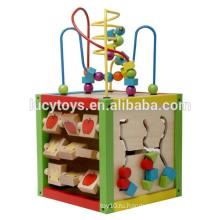 Развивающая игрушка игрушка кубика деревянная играющая кубическая игрушка