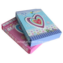 Customized Printed Baby Girl / Boy Paper Photo Album with Box Holder