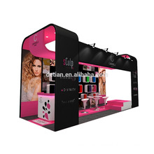 China factory economical recycle used high quality display stand , booth design , kiosk design