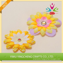 Exquisite artificial chiffon fabric flower