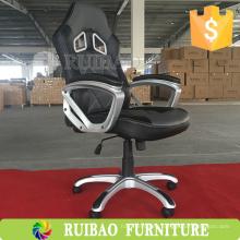 2016 Nueva silla de cuero de lujo del diseño de la oficina ejecutiva con el reposapiés