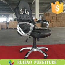 2016 New Design Luxury Leather Executive Office Chair With Footrest