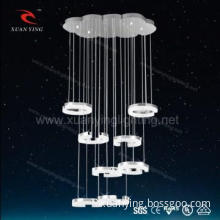 Selling Modern Lamp Acrylic round Hanging Lights