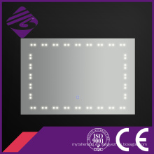 Jnh176 China proveedor de baño libre de niebla punto de luz LED espejo