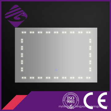 Jnh176 China Supplier Fog Free Bathroom LED Point Light Mirror