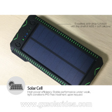 15000mAh Solar Energy Battery Charger For Smart Phone