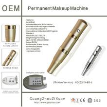 Goochie 2014 la más nueva máquina de oro del tatuaje del maquillaje del eyeliner del labio de la ceja
