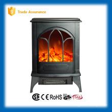 Calentador de chimenea de chimenea de madera para la decoración del hogar