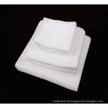 Einweg White Absorbent Sterile Cotton Medical Gaze Tupfer