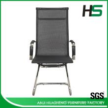 Mittlerer Rücken schwarzer Mesh-Stuhl H-M01-2-BK.