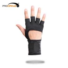 Пользовательские фитнес-тренировки нескользящие спортивные перчатки тренажерный зал
