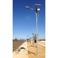 Precios satisfactorios de las luces de calle solares / farola solar